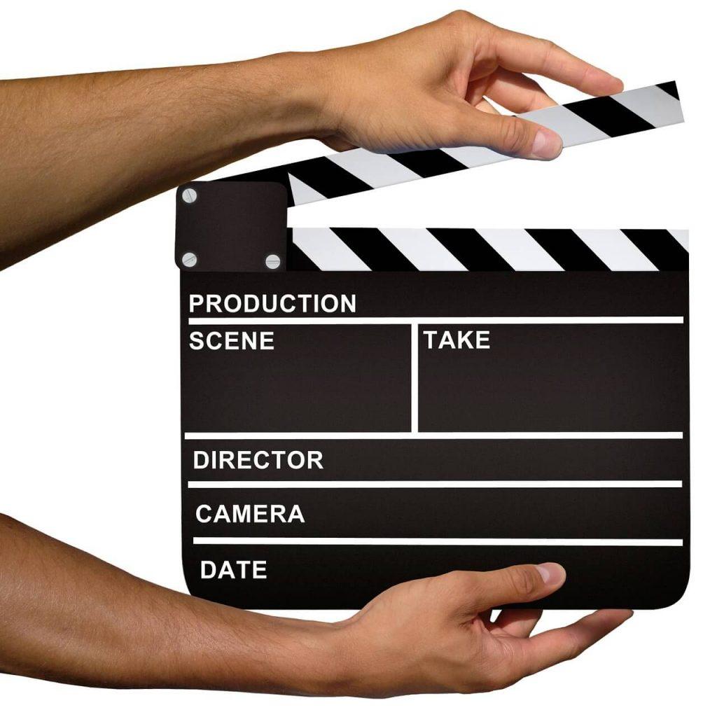 Movie producer screen capture