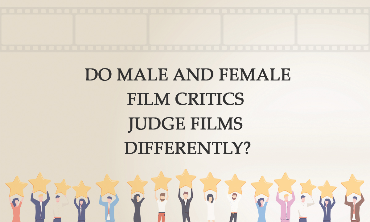 Do male and woman critics choose movies in different ways?