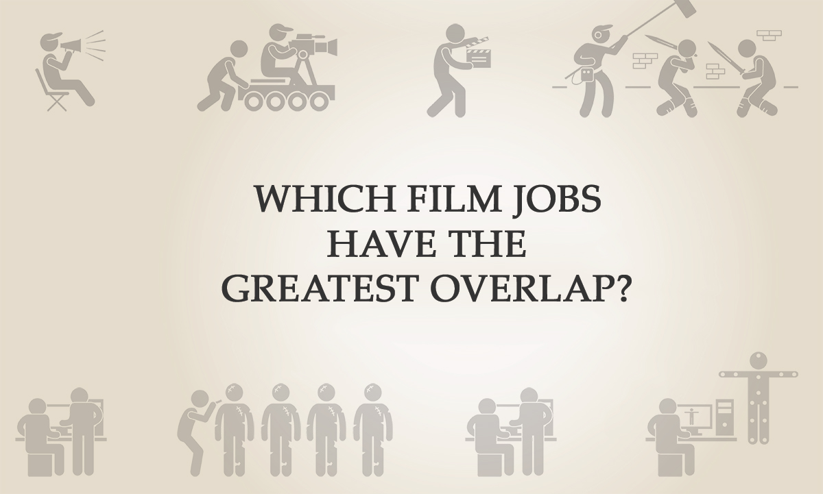 Which film employment have the finest overlap?